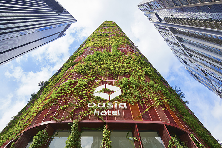 Oasia Hotel Downtown, Singapore
