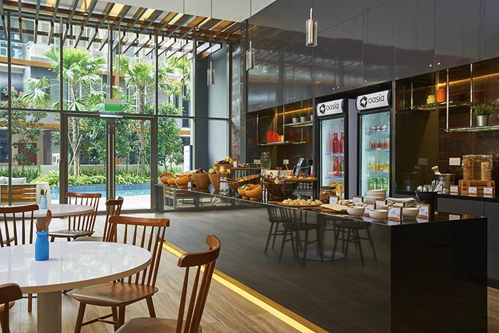 Oasia Residence Breakfast Spread