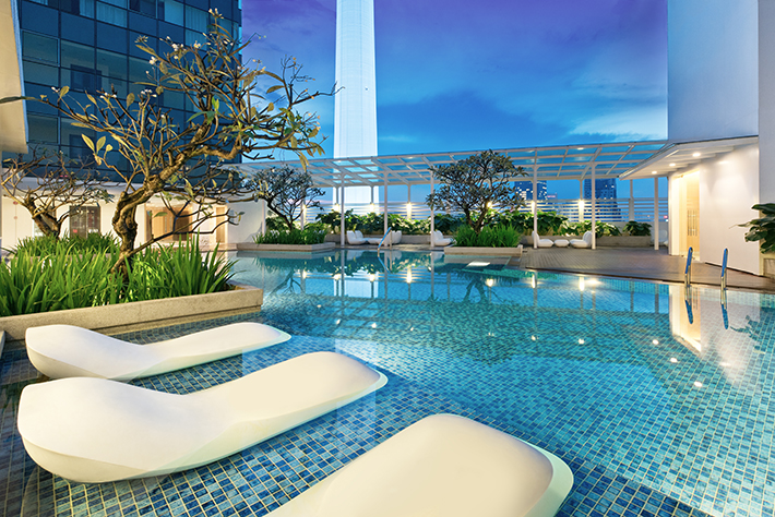 Oasia Suites KL Pool