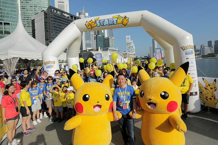 Pokemon Run Carnival Singapore