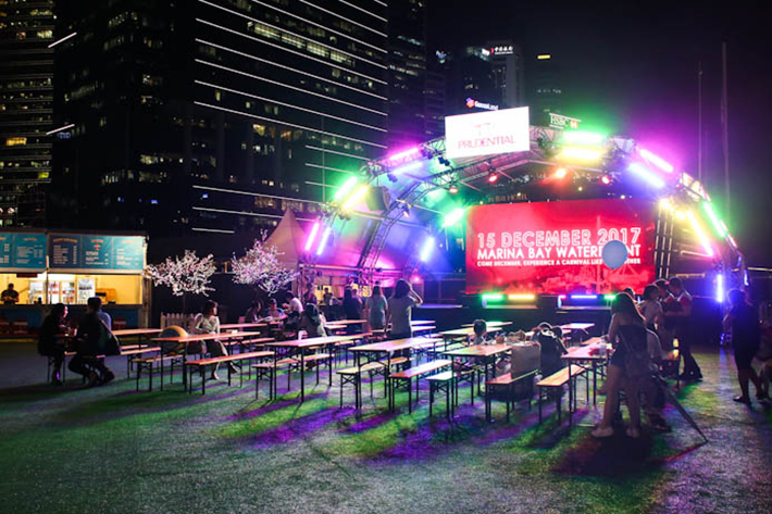 Prudential Carnival Stage
