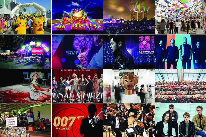 Singapore January 2018 Events