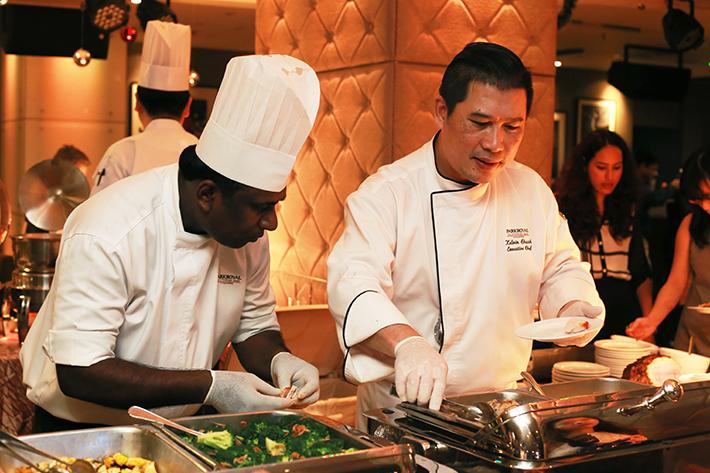 Spice Brasserie Chef Kelvin Chuah