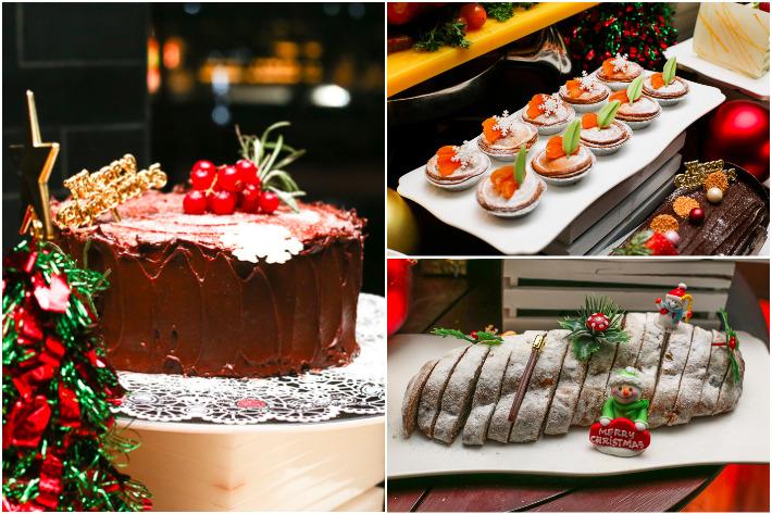 Spice Brasserie Christmas Desserts