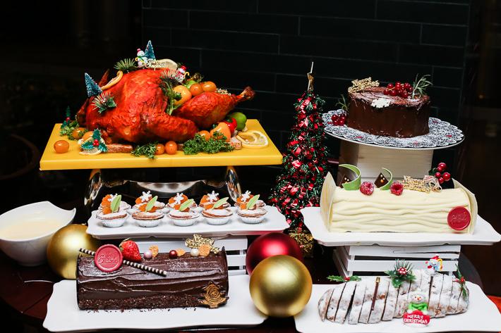 Spice Brasserie Christmas Spread