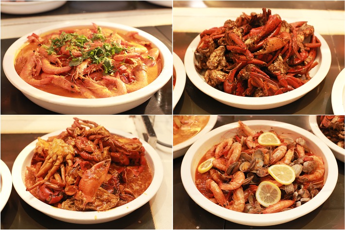Spice Brasserie Crabs