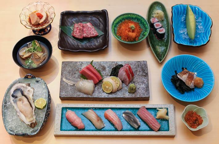 Sushi Jiro 10 Course Omakase