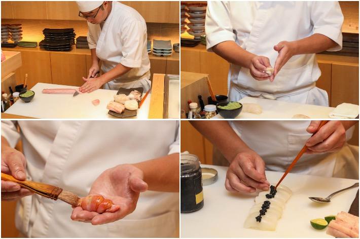 Sushi Jiro Chef Kenji