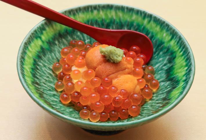 Sushi Jiro Ikura & Uni Bowl