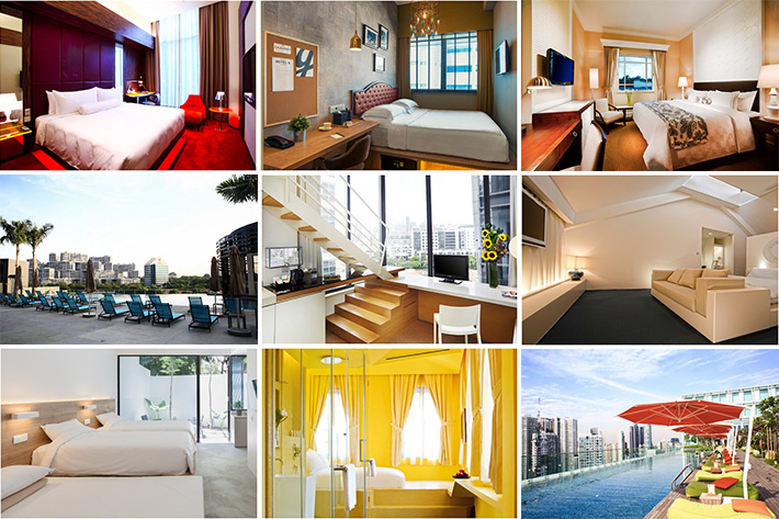 25 Hotels Under S$300 Collage