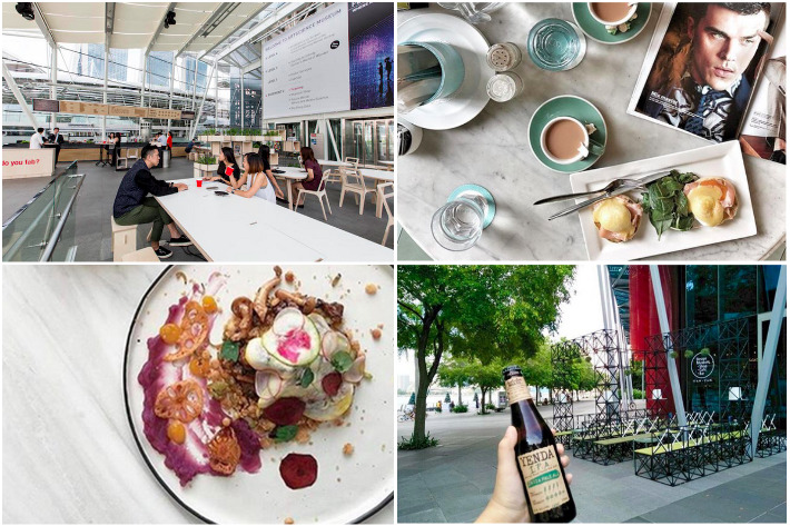 8 Museum Cafes & Restaurants Collage