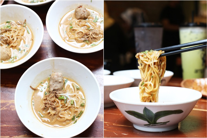 Amphawa Beef Boat Noodles