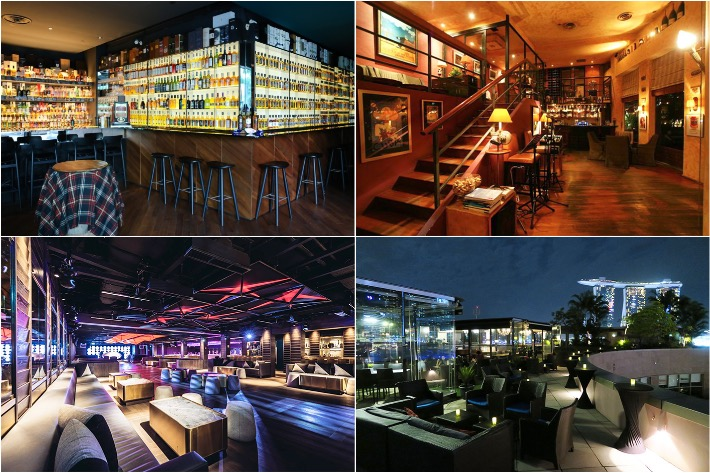 Cigar & Whisky Bars In Singapore