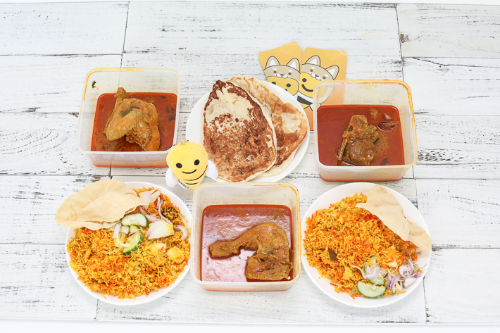 Honestbee Hawker Indian Food