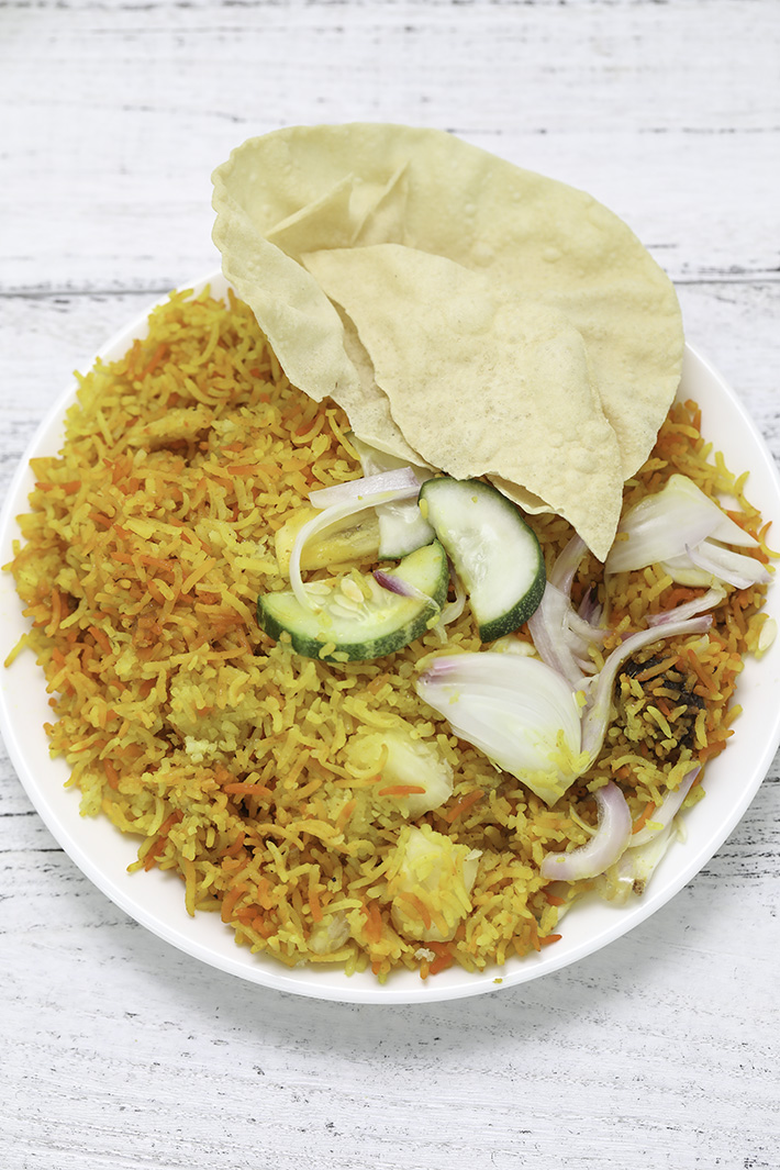 Honestbee Hawker Nasi Briyani