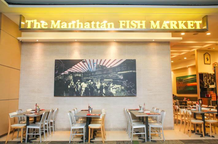 Manhattan Fish Market Exterior