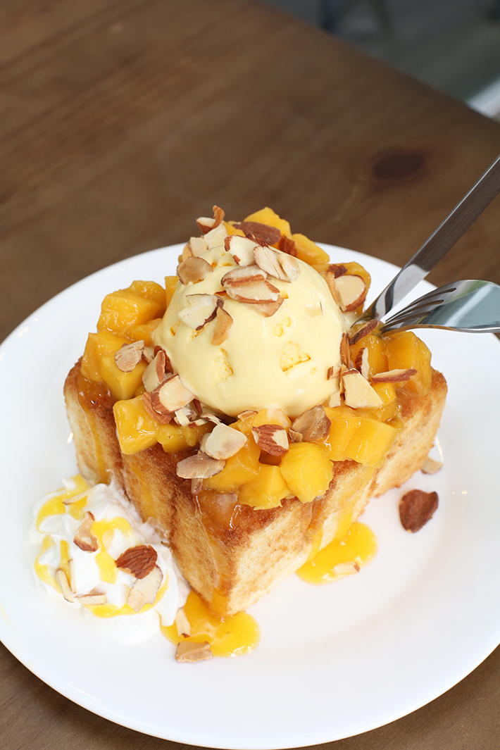 OH MY MANGO Mango Toast