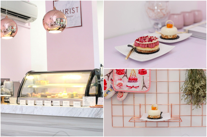 Purist Patisserie Collage
