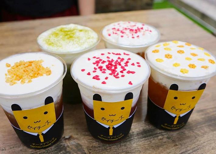 SayChiizu Cheese Drinks