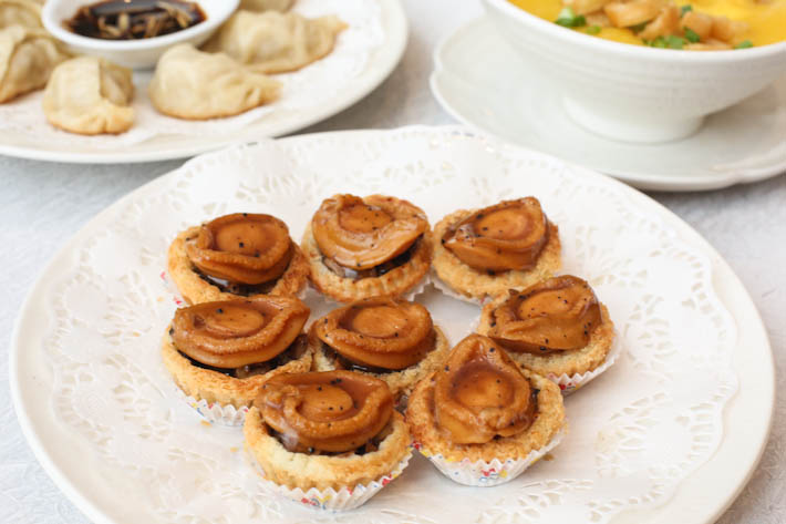 Song Garden Truffle Abalone Tart