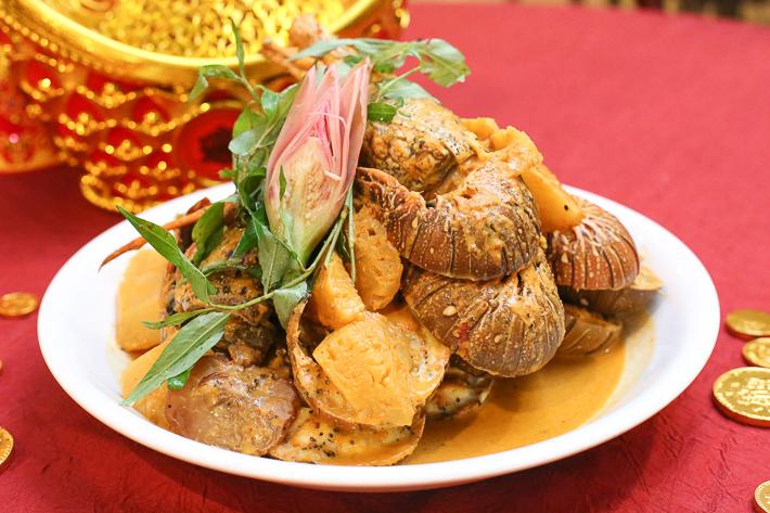 Spice Brasserie CNY Nanas Lemak Lobster