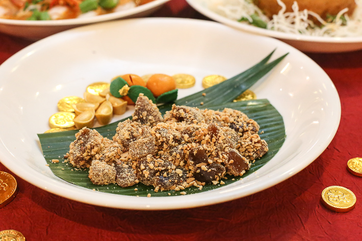 Spice Brasserie CNY Traditional Nian Gao With Peanut
