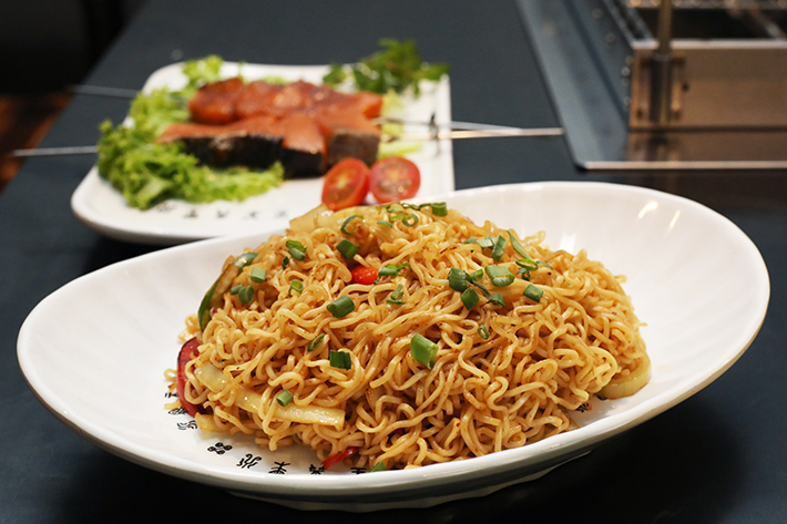 The Hungry Caveman Fried Noodle