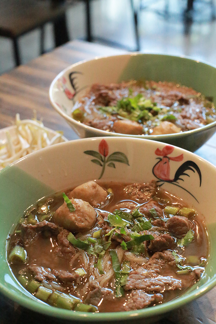 Tiew Mai Thai Boat Noodles Beef Noodles