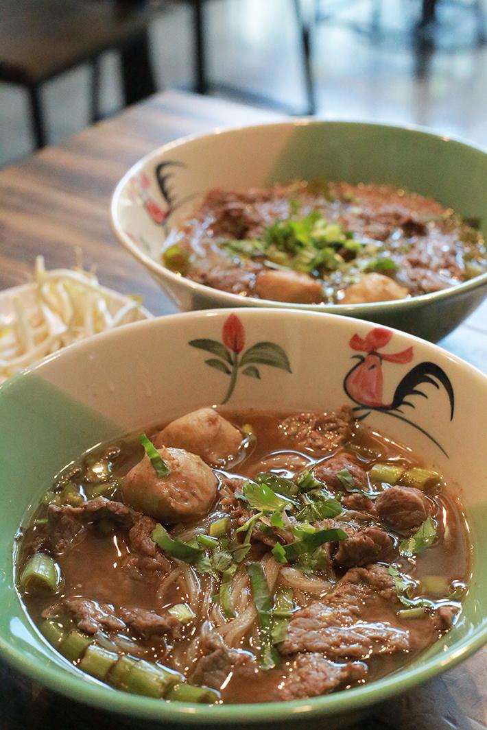 Tiew Mai Thai Boat Noodles Beef Noodles