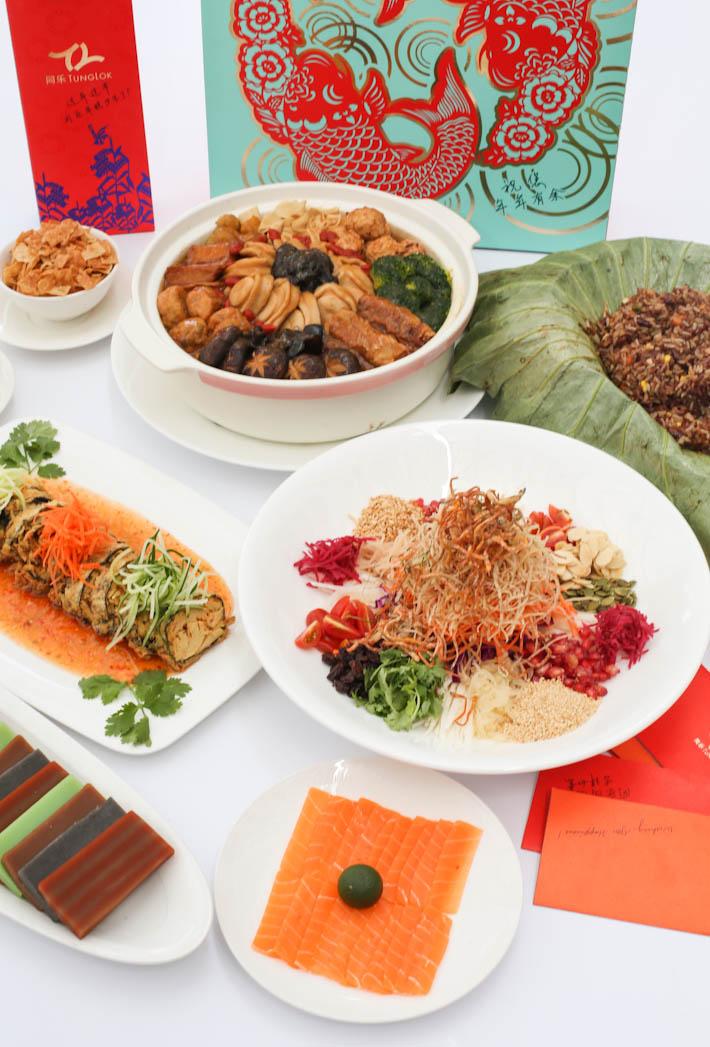 TungLok CNY Vegetarian_