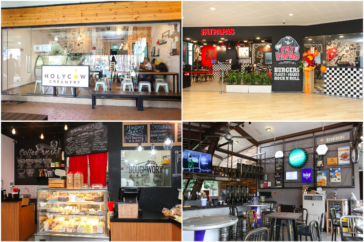 Yishun Cafes Collage