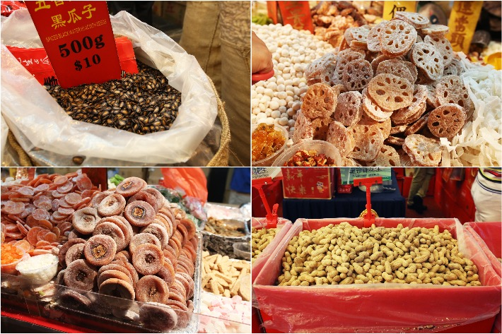 Chinatown CNY Market Snacks