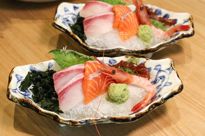 En Sakaba Sashimi Platter