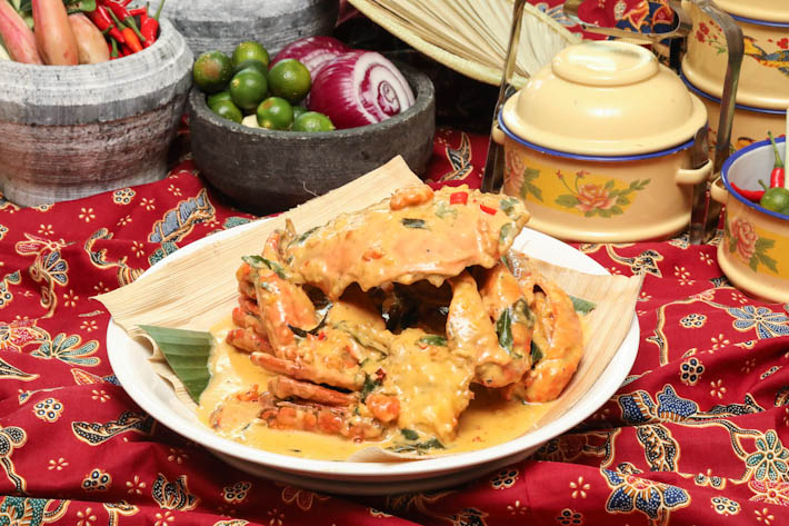 PARKROYAL Kitchener Salted Egg Crab