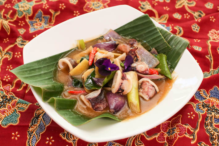 PARKROYAL Kitchener Sotong in White Pepper Sauce