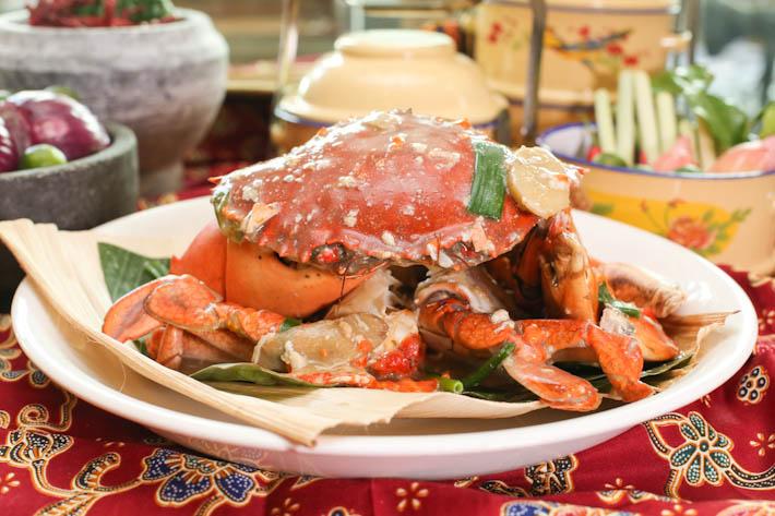 PARKROYAL Kitchener Spring Onion Ginger Crab