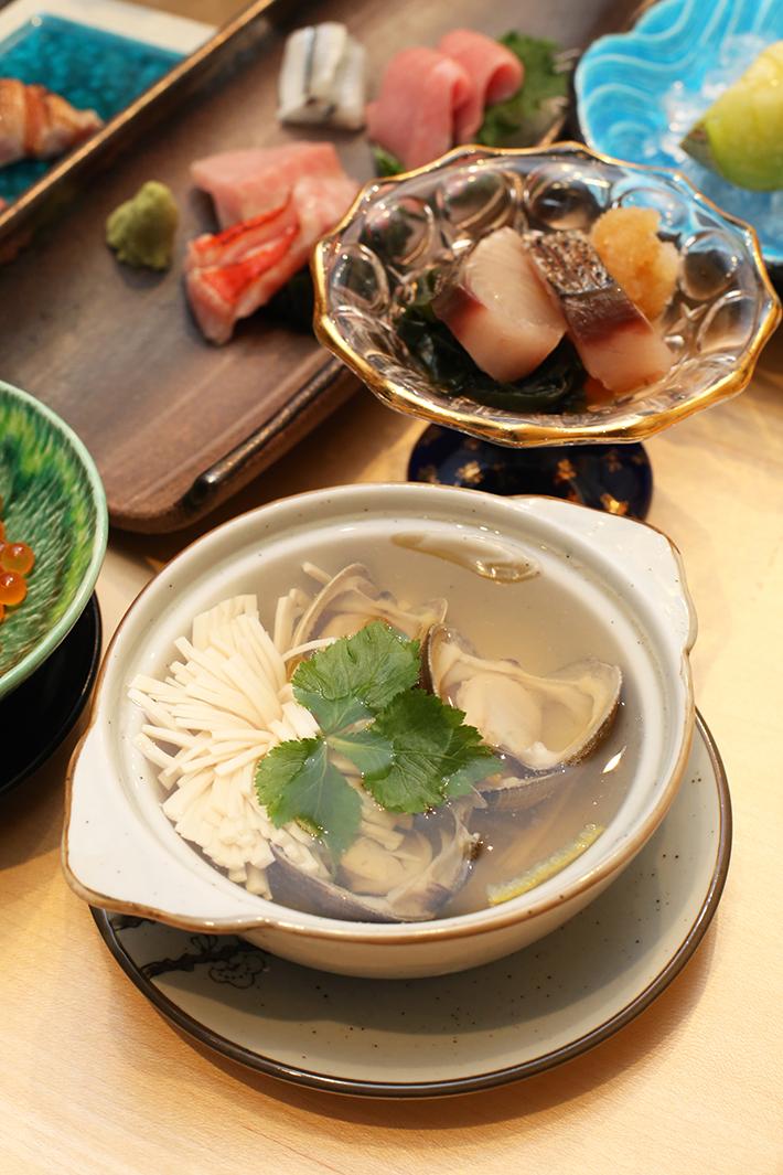 Sushi Jiro Clam Soup