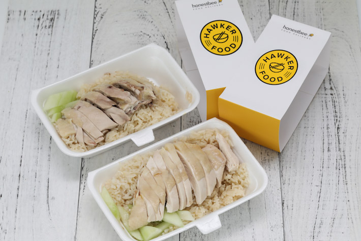 honestbee hawker chicken rice delivery