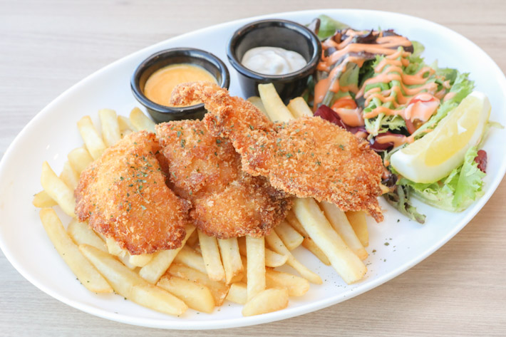 HyfeCafe Salted Egg Fish & Chips