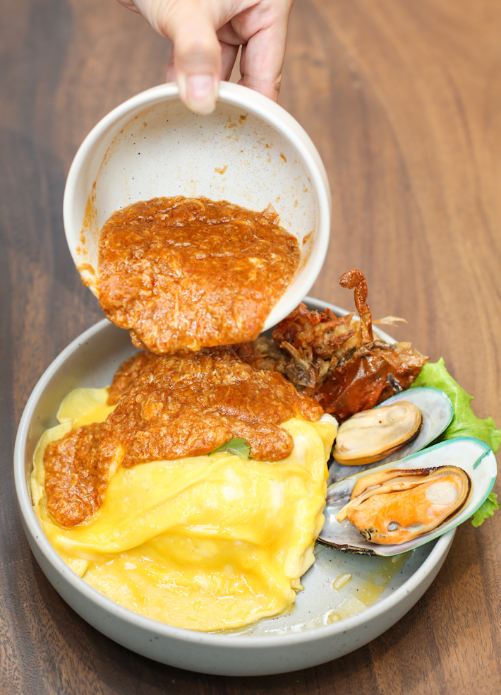Baan Ying Chili Soft Shell Crab Omelette