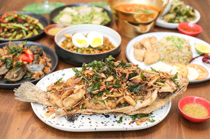 Baan Ying Deep-Fried Seabass