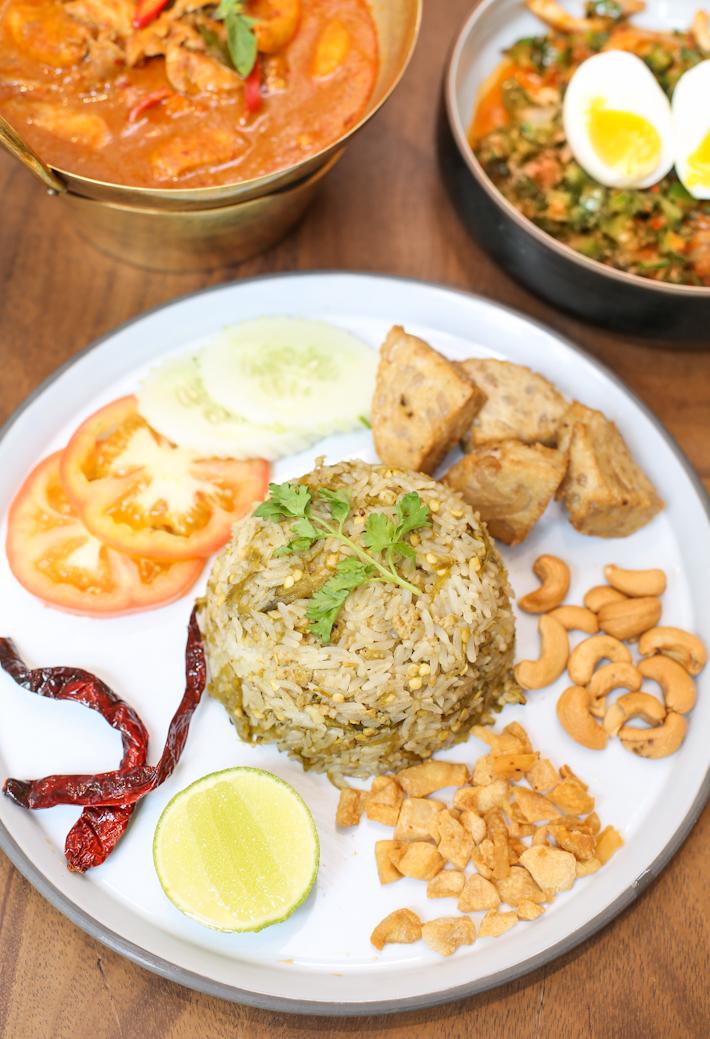 Baan Ying Green Chili Fried Rice