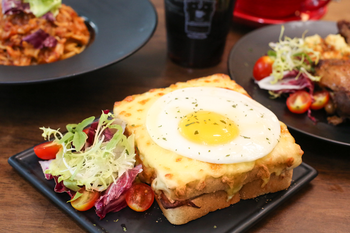 Coffee Club Croque Madame