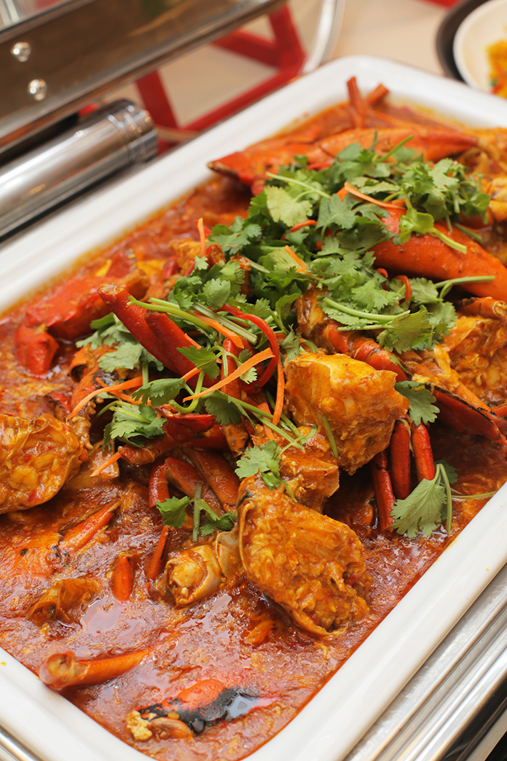 Ginger Chilli Crab 2