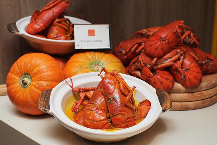 Ginger Pumpkin Lobster