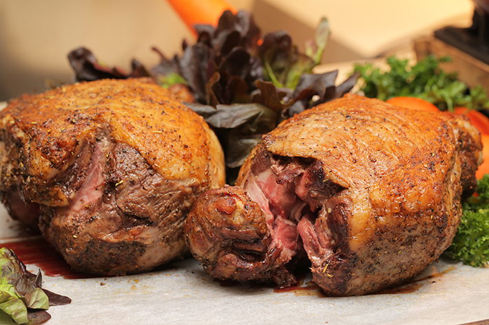 Ginger Roast Lamb