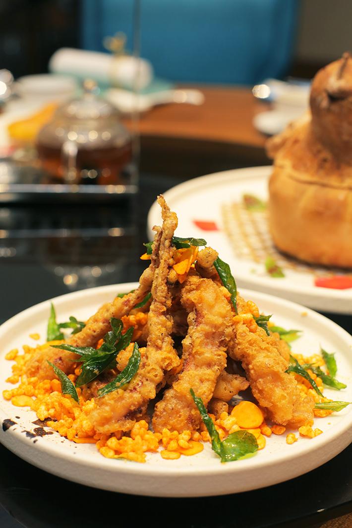 Hua Ting Crispy Squid