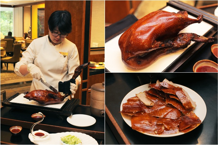 Hua Ting Peking Duck Collage