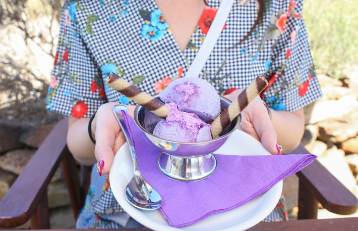 Lyndoch Lavender Ice Cream