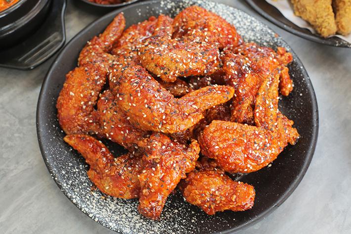 Oven & Fried Chicken Spicy Fried Chicken